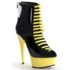 DELIGHT-600-33 Black/Neon Yellow
